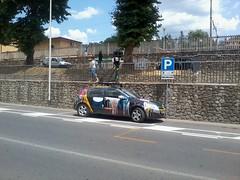 Google Street View Car - Side