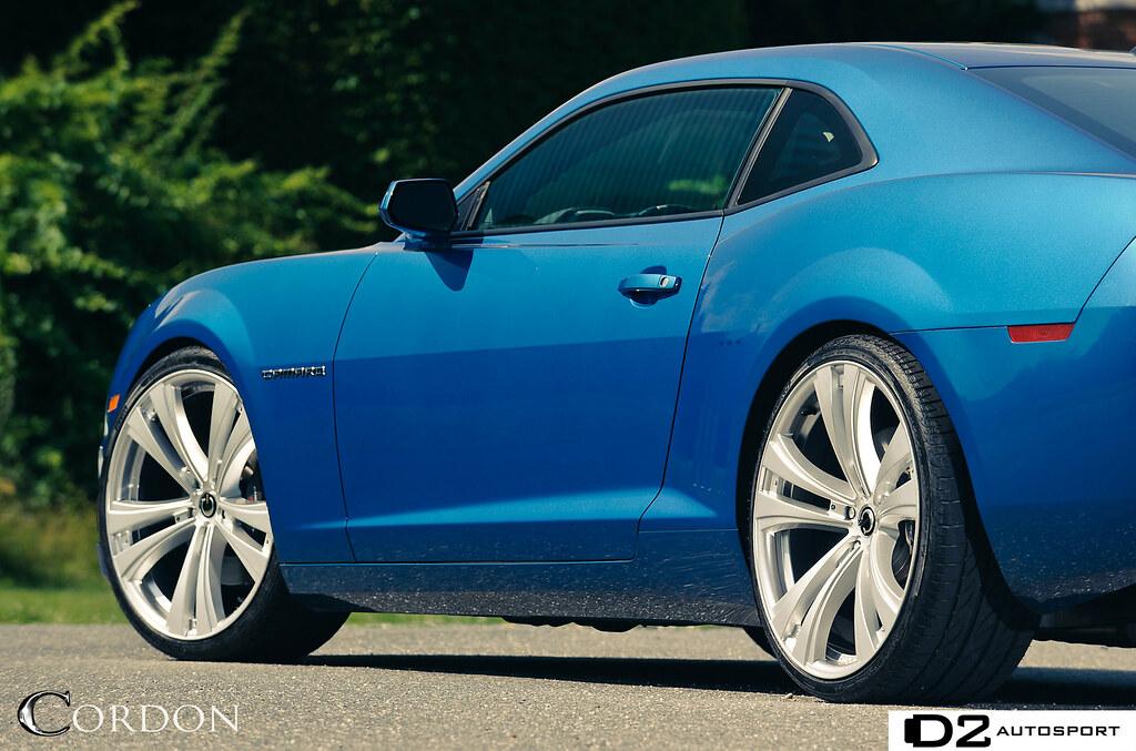 Cordon Introduces Some New Heat Camaro Ss Photoshoot