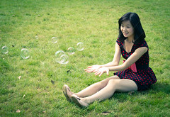 Blowing soap bubbles (wu.peng) Tags: park people cute beautiful beauty smiling fashion closeup female laughing asian japanese women university friendship contemporary young happiness blowing clean heat bubble innocence teenager casual cheerful youngadult blackhair hygiene perfection oneperson freshness elegance caucasian purity youthculture humanhair bubblewand vitality humanface humanskin healthylifestyle fineartportrait humanmouth humanteeth