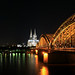 Köln - Deutzer Brücke mit Dom Pano