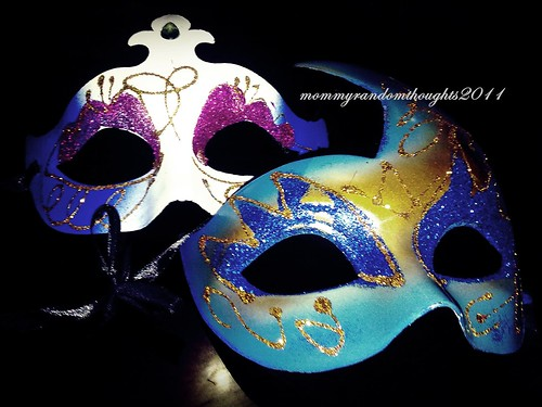 The Masks We Wear by mommy random thoughts