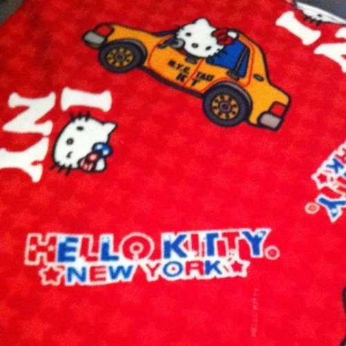 Project 365 178/365: I bought @Sanrio Hello Kitty fabric today for my next project. No time to start it today.