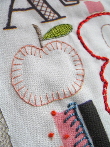 A Is for Apple, B Is for Blanket Stitch