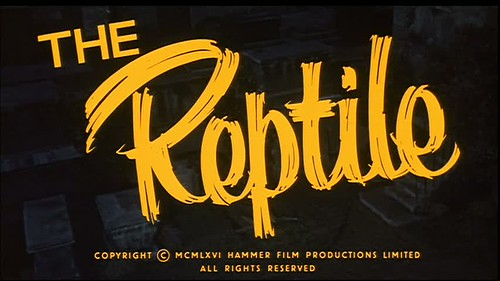 The Reptile (1966) by Matt Patton