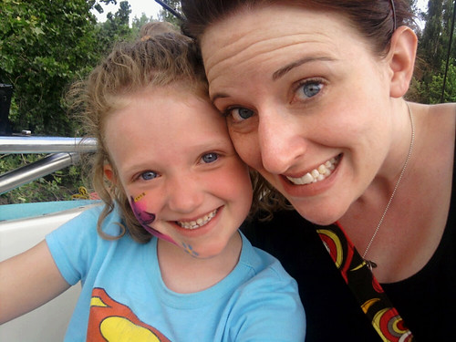 the bigger one and me at Lagoon.