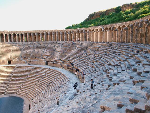 Aspendos劇院的觀眾席