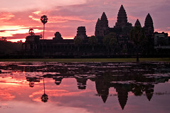 Incredible Sunrise at Angkor Wat, Cambodia