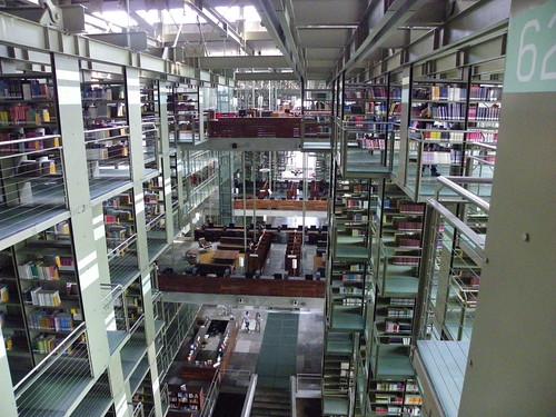Biblioteca Vasconcelos, Mexico Ciudad