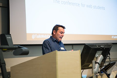 David opening the conference