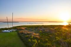 The Outer Banks (Tim.Regan) Tags: ocean above sunset sky sun grass regan photography bay coast boat nikon skies north atlantic east coastal sound carolina outer banks obx d7000