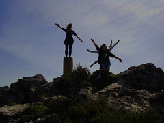 These Mountains Are For Dancing 10 (angeloska) Tags: music mountain dance performance ikaria aegean ridge greece environment earthday windturbines  atheras ikarians peopleinlandscape opsikarias