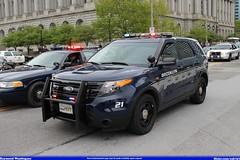 Brooklyn Ohio Police Ford Explorer (Seluryar) Tags: ohio ford brooklyn memorial peace explorer cleveland police parade officers 2014