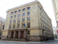 Ministry of Finance. Riga, Latvia. June 1, 2014 (Aris Jansons) Tags: city building architecture europe capital baltic latvia riga functionalism 2014 rga latvija baltikum financeministry