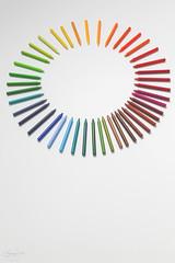 colour circle... (CatMacBride) Tags: crayoncolourful circle