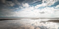 miroir mon beau miroir (prenzlauerberg) Tags: 2016 italia italie brussa adriatique meradriatique nuage reflet plage sable rivage venetie 1835 paysage landscape