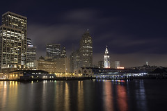 Embarcadero Waterfront Dawn (dcnelson1898) Tags: sanfrancisco sanfranciscobay california embarcadero ferrybuilding waterfront downtown dawn longexposure skyline nikond750