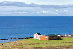 Farm by the Sea _4786 (hkoons) Tags: westfiords westfjords atlantic barastrnd country flkalundur iceland vatnsfjrur bay beach countryside farm farms fiord fjord fodder grains grass grazing green inlet island landscape north ocean outdoors pastoral pasture peninsula ranch saltwater sand sea surf water waves