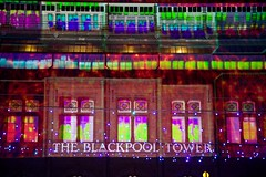 Blackpool (itmpa) Tags: blackpool lancashire seaside seasideresort resort blackpooltower towerbuildings listed gradei 18914 1894 1890s victorian tower illuminations night evening dark light lights straightfromthecamera unedited nophotoshop england archhist itmpa tomparnell canon 6d canon6d
