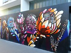 Graff de l'artiste Nardstar, pour Les Escales 2016. (CorcuffR) Tags: afrique du sud escales 2016 festival musique graff tag cap nardstar saint nazaire