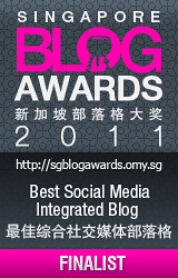 Singapore Blog Awards 2011
