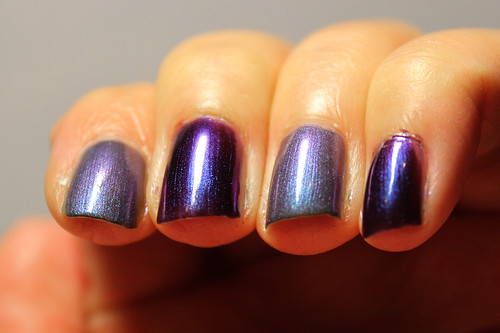 Estessimo Tins Swan Lake vs Orly Royal Velvet (1/3)
