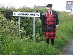 A Cunningham at Cunninghamhead