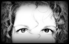 There was a little girl....      (Explored) (montreal_bunny) Tags: blackandwhite me june canon eyes curl odc nurseryrhyme g12 explored cmwd cmwdblackandwhite ourdailychallenge 2011yip 3652011 canonpowershotg12