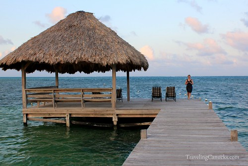 Private Dock - Victoria House, Ambergris Caye, Belize