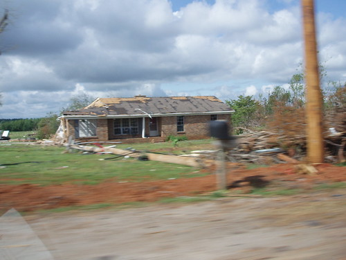 Tornado Damage, North Alabama