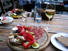 Wein und Vesper