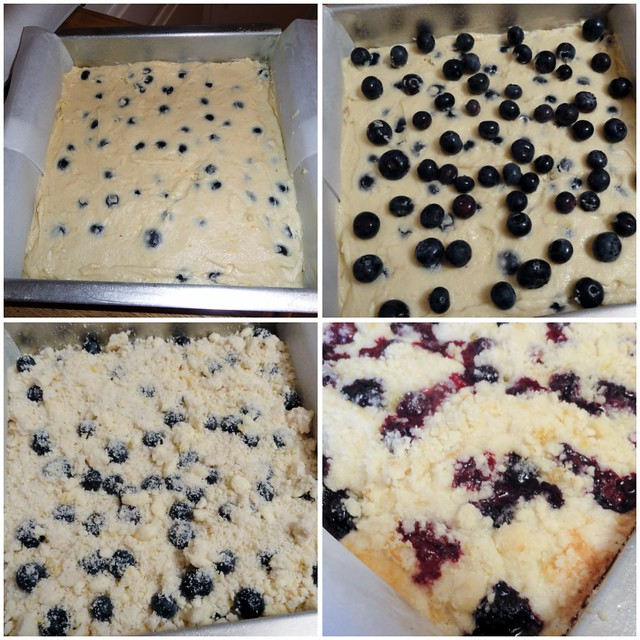 Lemon Blueberry Buckle collage 1