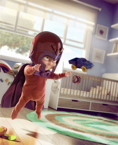 Magneto in Toy Story 4