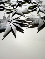 Origami-création - Didier Boursin - Etoiles