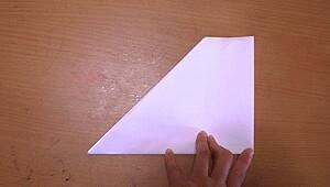 紙鉄砲を作る6