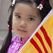 Immigrants parade NYC 6_25_11 Young Vietnamese Girl