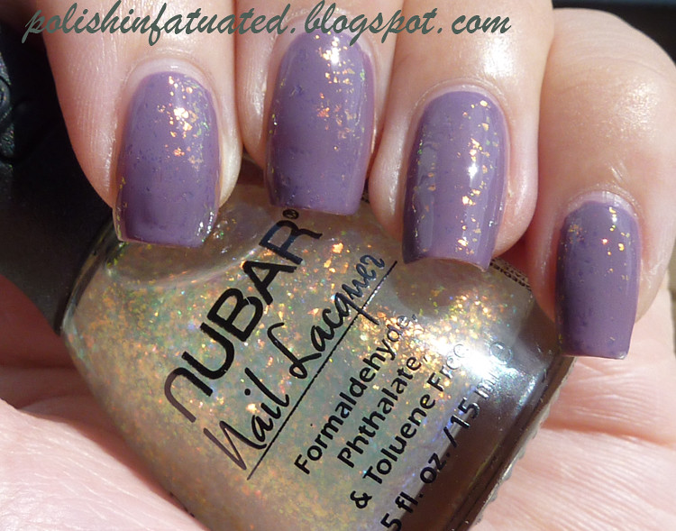 parlez-vous opi with Nubar 2010 (sunlight)