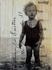 Water Baby (ANDstudio) Tags: collage vintage mixedmedia