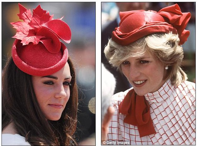 Duchess of Cambridge and Princess Diana  Duchess of Cambridge and Princess Diana  Duchess of Cambridge and Princess Diana  1
