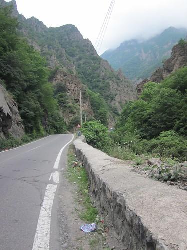 Road through the Alborz
