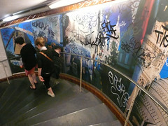 Montmartre Metro Stairs