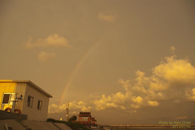 7月2日:天氣晴,多雲