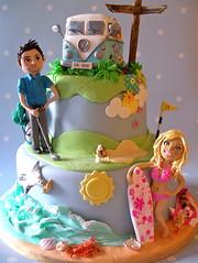 Barbie & Ken wedding cake (ni