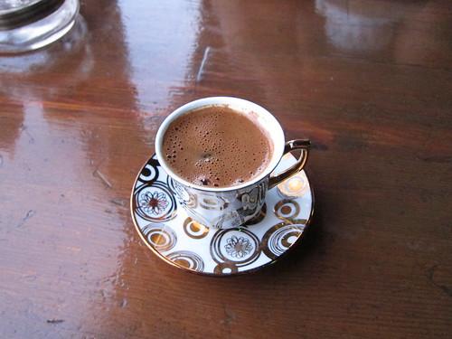 Turkish kahve