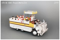 Star 660 Papamobile (Karwik) Tags: pope star lego 660 fsc jp2 papiez papamobile 660m 660m2