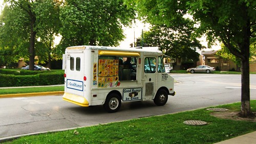 A local Good Humor ice cream truck.  Chicago Illinois USA. Friday, July 1st, 2011. by Eddie from Chicago