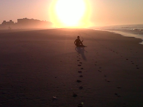 Fwd: Pic- Sunrise & HYK on the beach this AM-I am the photographer-what do you think?