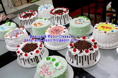 Batch 3 Mac 2011: Variety Cakes