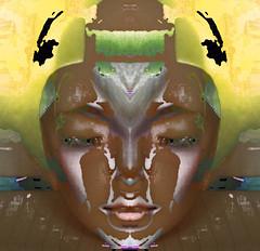 TINAJA (FRANCIS DE GUAY (VERY BUSY)) Tags: fiesta y contemporaryart abstracto rococo bizarro neutro practico indefinido iridiscente emblematico magicpix fantasioso impredecible art2010 flamingpearfilterswereused personallibre acorazonado digitalespiritual art2011 colourartaward theinspirationgroup