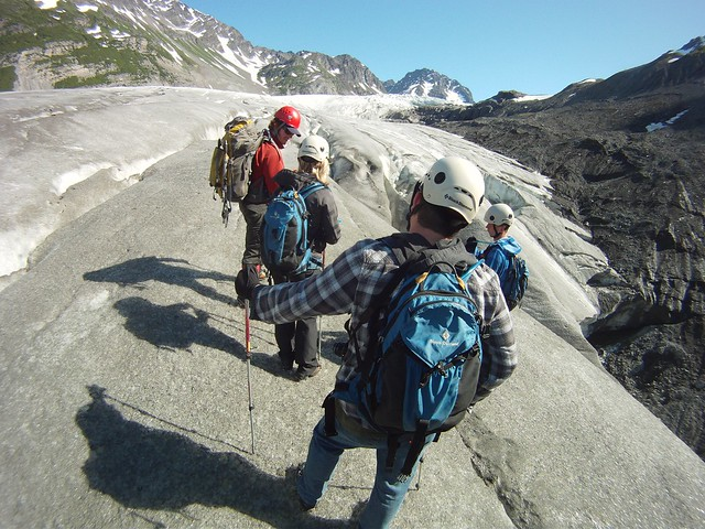 Glacier Ice Hiking