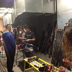 BC tuning room before SG races in Panorama